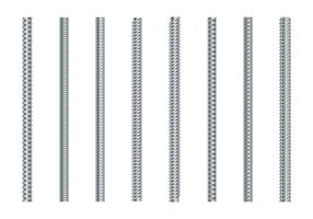 Ensemble de vecteur Rebars
