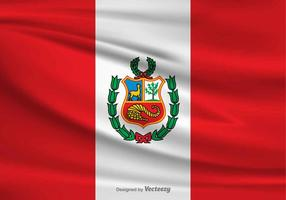 Vector Flag of Peru