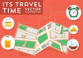 Gratis Travel Vector Elementen