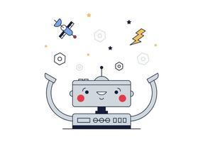 Gratis Robot Vector