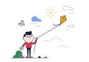 Free Kite Vector