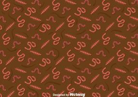 Earthworm Pattern Background
