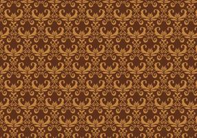 Vecteur marron pattern western flourish
