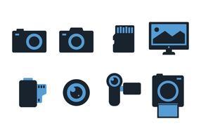 Gratis fotograferings ikoner