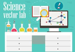 Vettore gratuito di Science Office