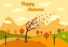 Free Autumn Vector Illustration