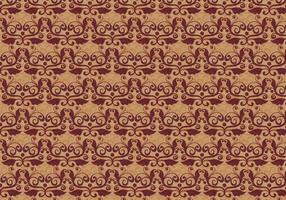 Rusty Vector Western Flourish Pattern