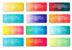 Free Web Banner Farbverlauf Vektor