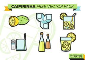 Paquet vectoriel gratuit Caipirinha