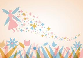 Pixie Dust Background Vector gratuito