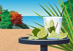 Cena da Praia Caipirinha