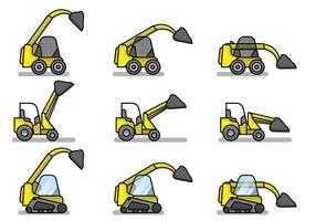 Gratis Platte Skid Steer Set