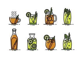 Citrongras drink vektor