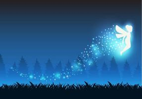 Gratis Pixie Dust Fairy Vector