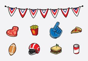 Gratis Tailgate Feast Icon Vector