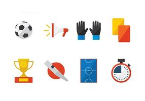 Futsal Flat Icon vector