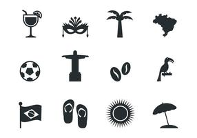Free Brazil Icons Vector