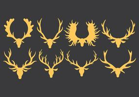 Vetor de ícones kudu grátis
