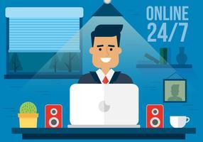 24 Hour Designer Vector