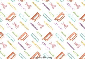 Colorful Stationary Seamless Pattern vector