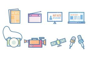 News & Journalism Vector