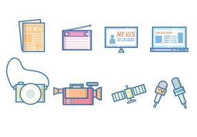 Kostenlose Nachrichten & Journalismus Vektor
