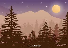 Forest Background Vector variopinto
