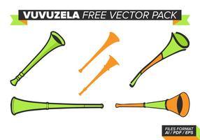 Vuvuzela pack vecteur gratuit