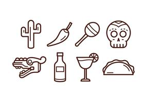 Free Mexico Icon Set