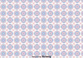 Pink And Blue Talavera Tiles Seamless Background