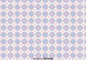 Rosa och blå Talavera-plattor sömlös bakgrund