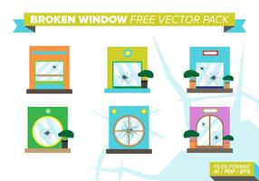 Gebroken Windows Gratis Vector Pack