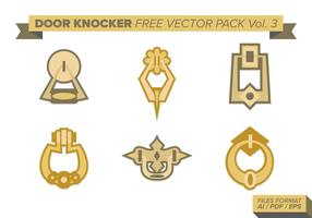 Door Knocker Free Vector Pack Vol. 3