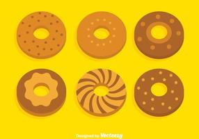 Bagel collectie vector set
