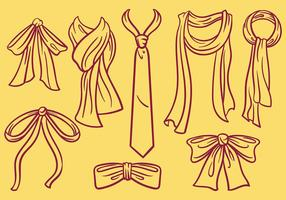 Gratis Cravat Pictogrammen Vector