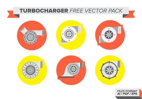 Turbocharger Pack Vector Libre