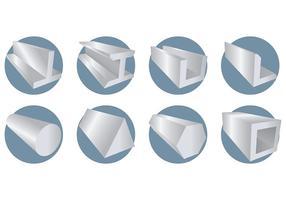 Vecteur libre d'icônes de barres