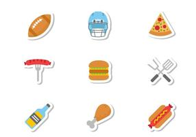 Free Tailgate Icons Vector