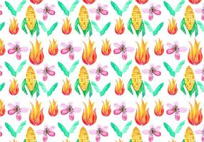 Free Vector Junina Corn Background
