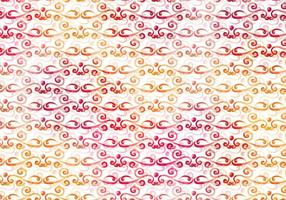 Warm Vector Watercolor Royal Background