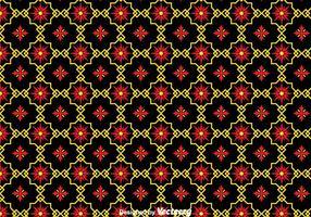 Tradicional ornamento negro azulejos de fondo