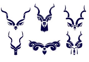 Vector Logotipo Libre De Kudu