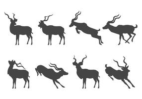 Silueta de Kudu