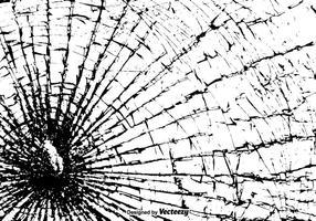 Textura de vidro quebrada de vetor livre