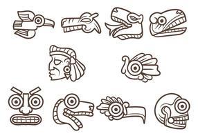 Vecteur quetzalcoatl