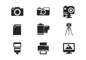 Free Camera and Photography Icon Vector