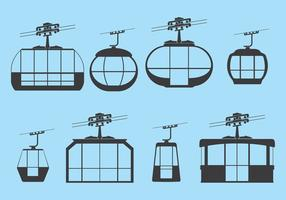 Free Cable Car vector