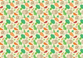Gemüse Muster Vektor