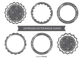 Grunge vektor emblem