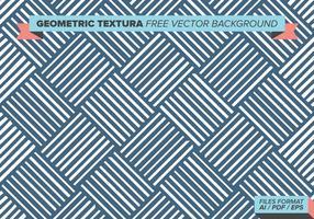 Textile géométrique fond de vecteur gratuit